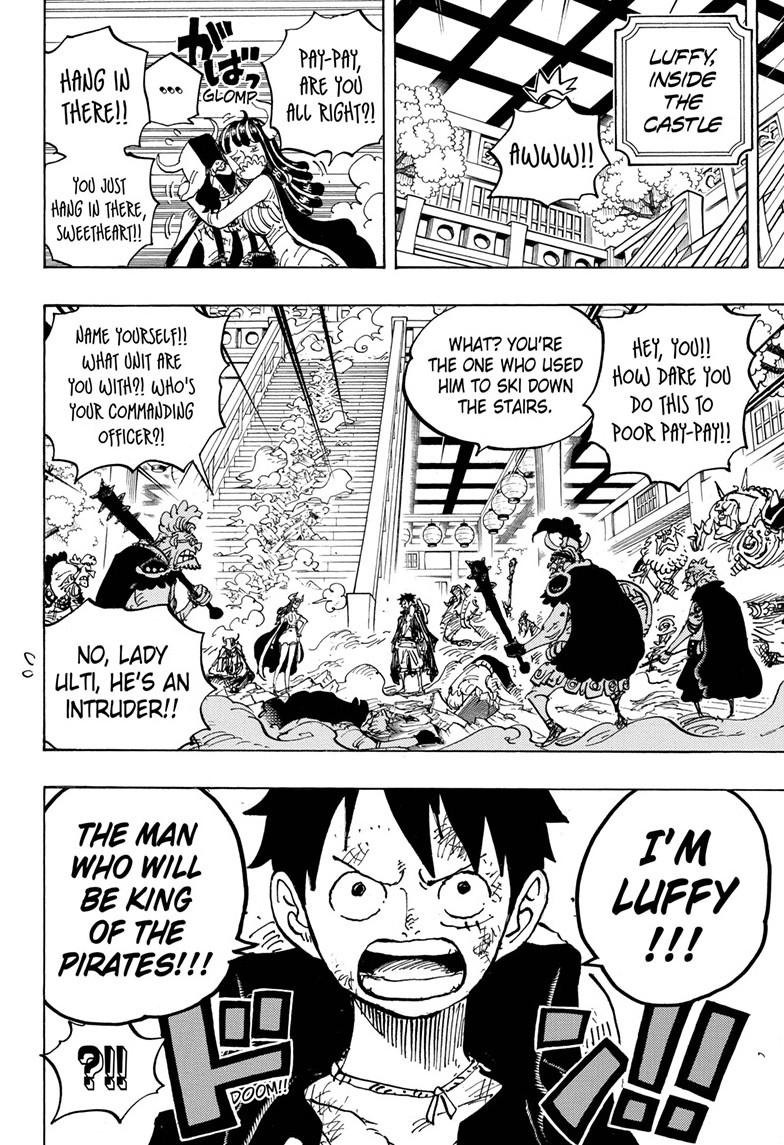 One Piece, Chapter 983 image 008
