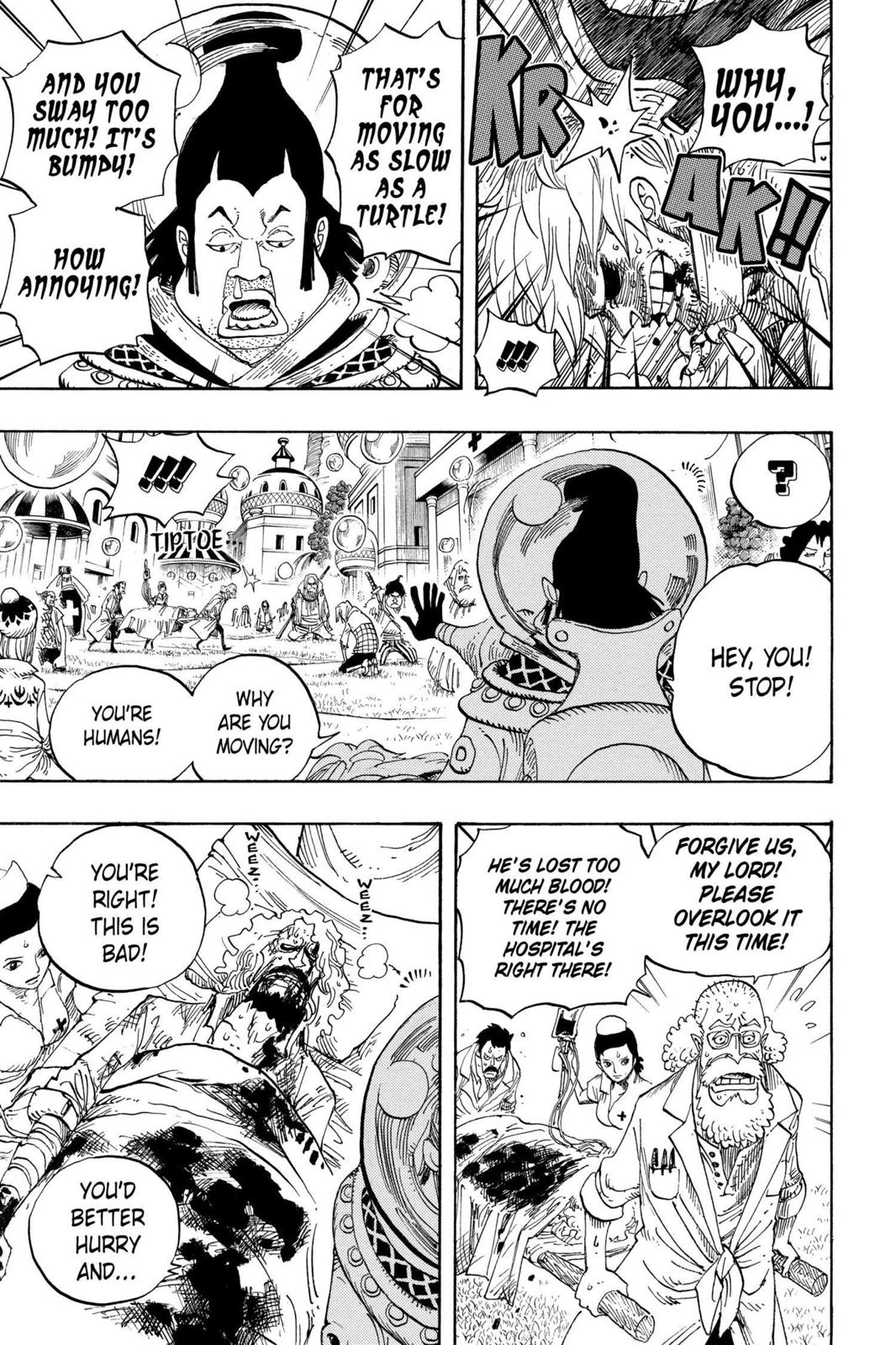 One Piece, Chapter 499 image 010