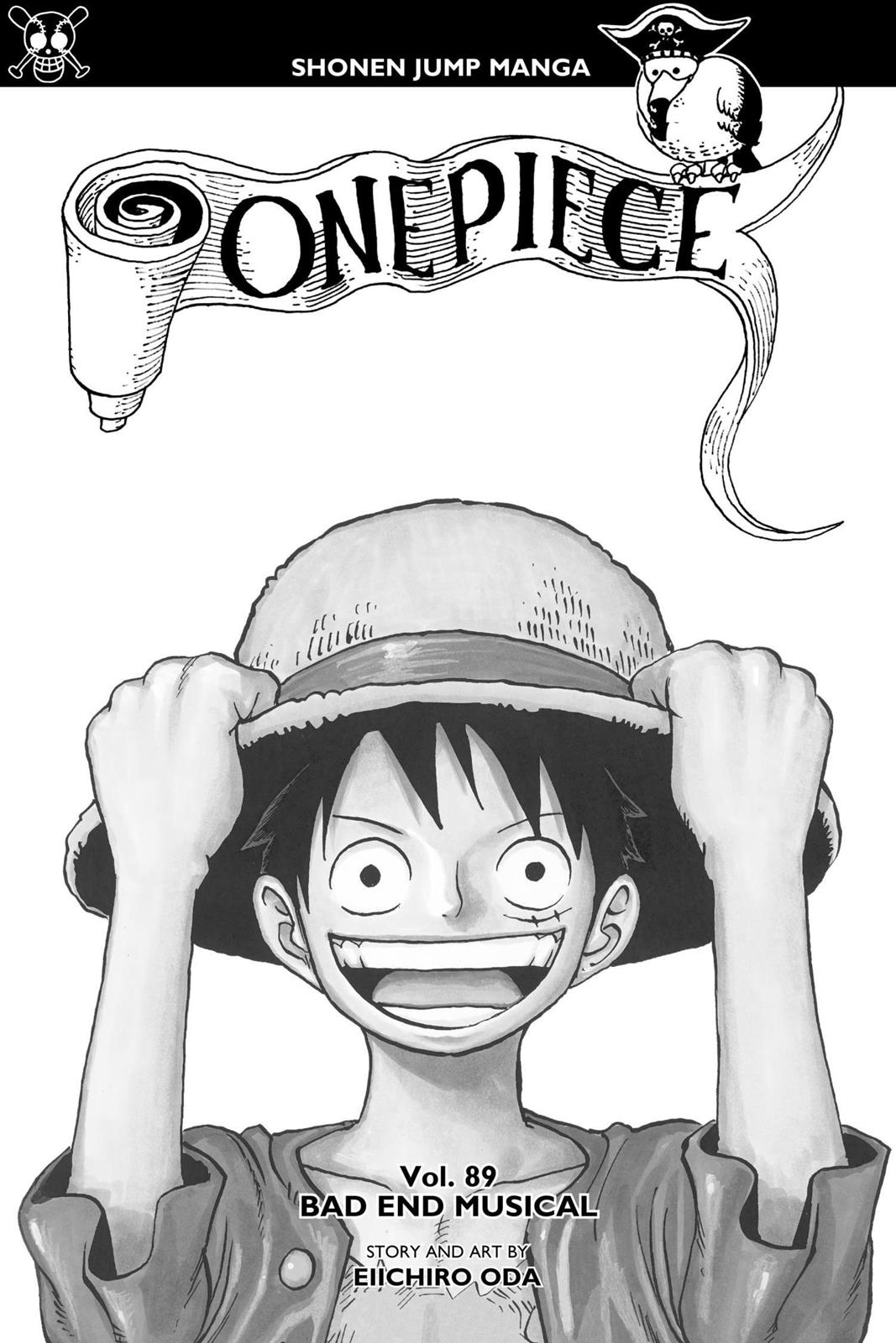 One Piece, Chapter 890 image 002