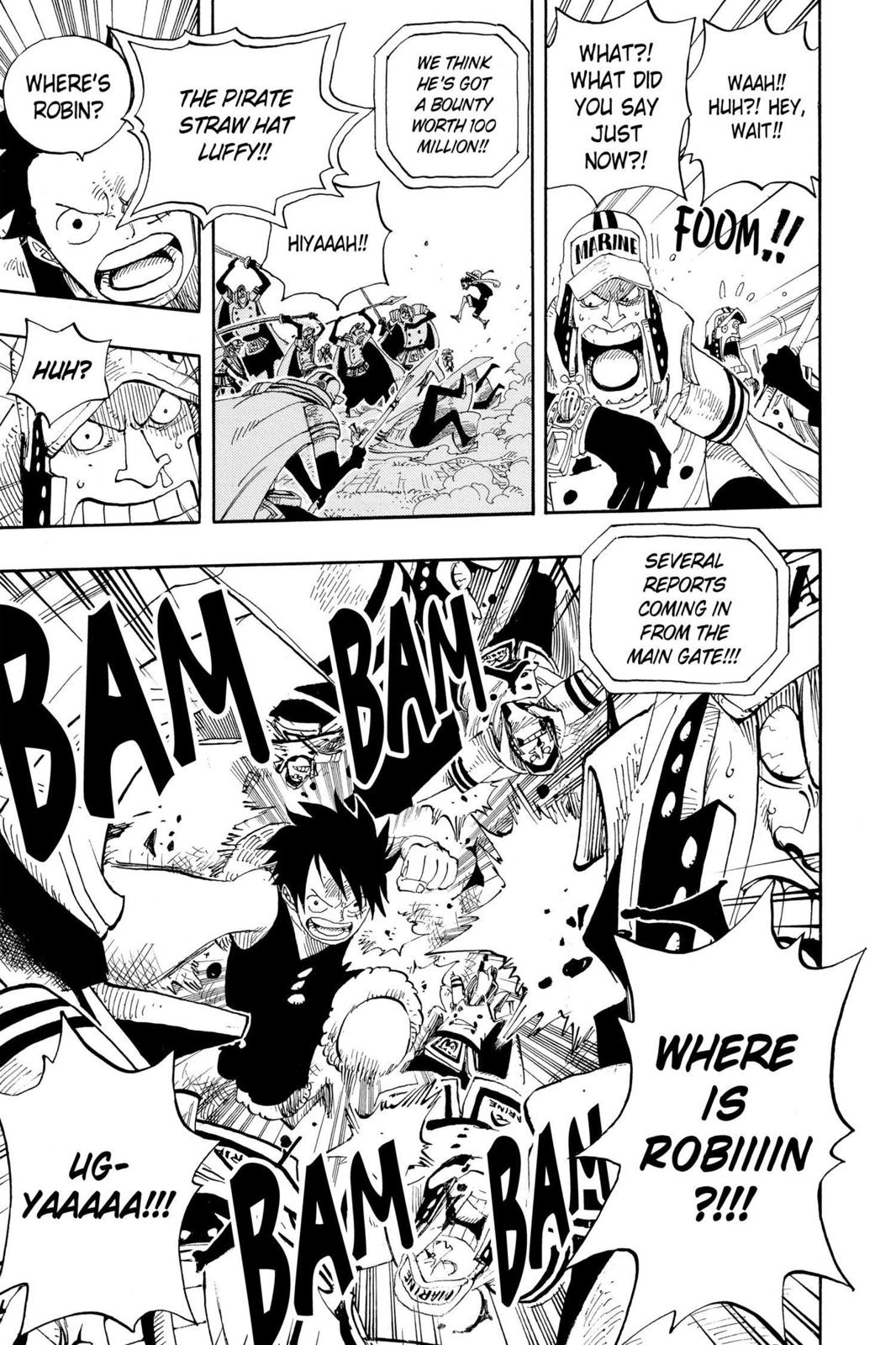 One Piece, Chapter 376 image 016