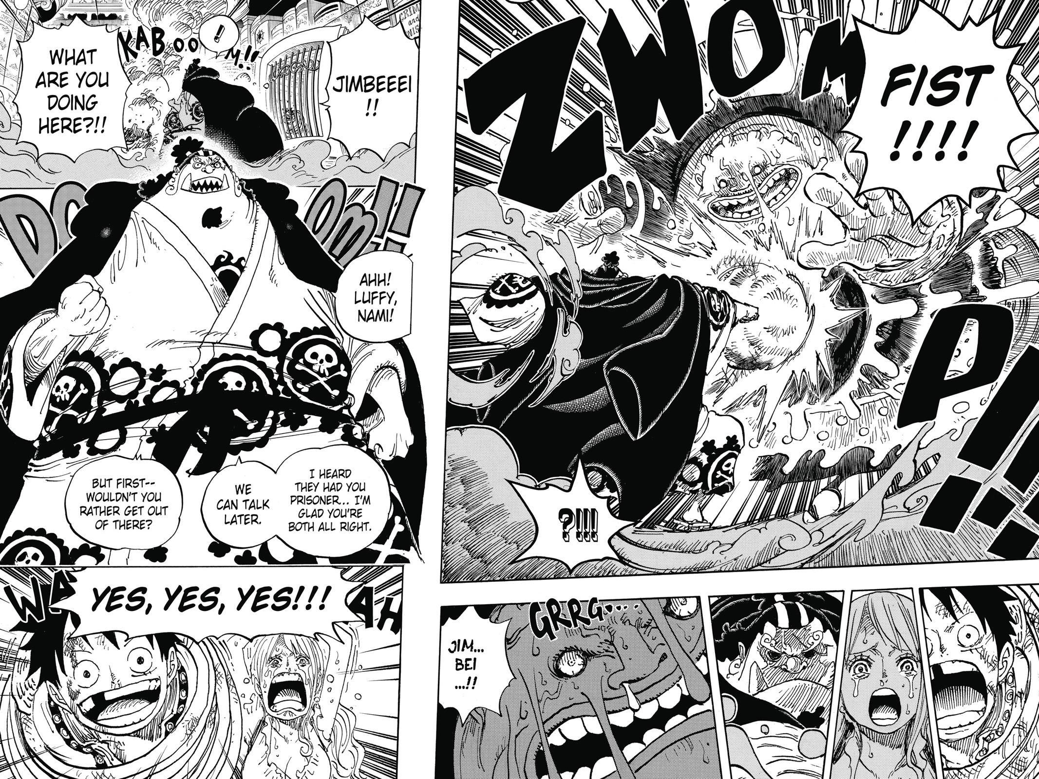 One Piece, Chapter 851 image 015