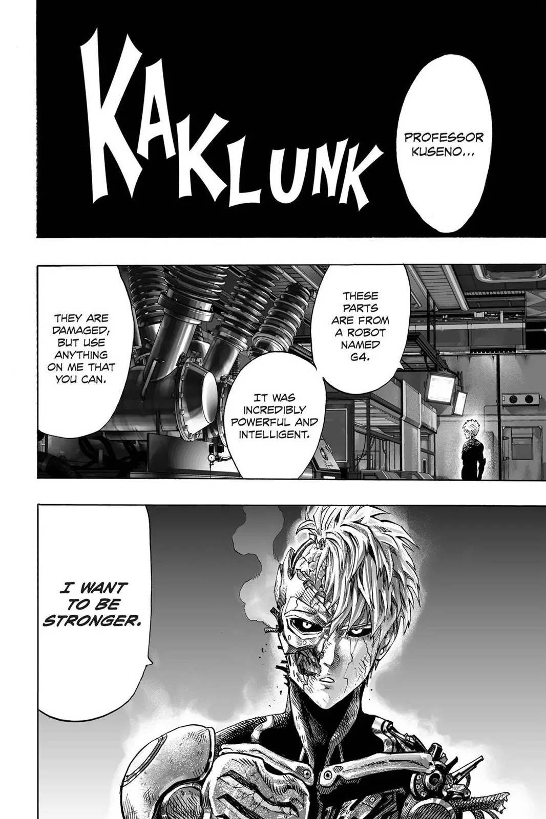 One Punch Man, Chapter Onepunch-Man 40 image 002