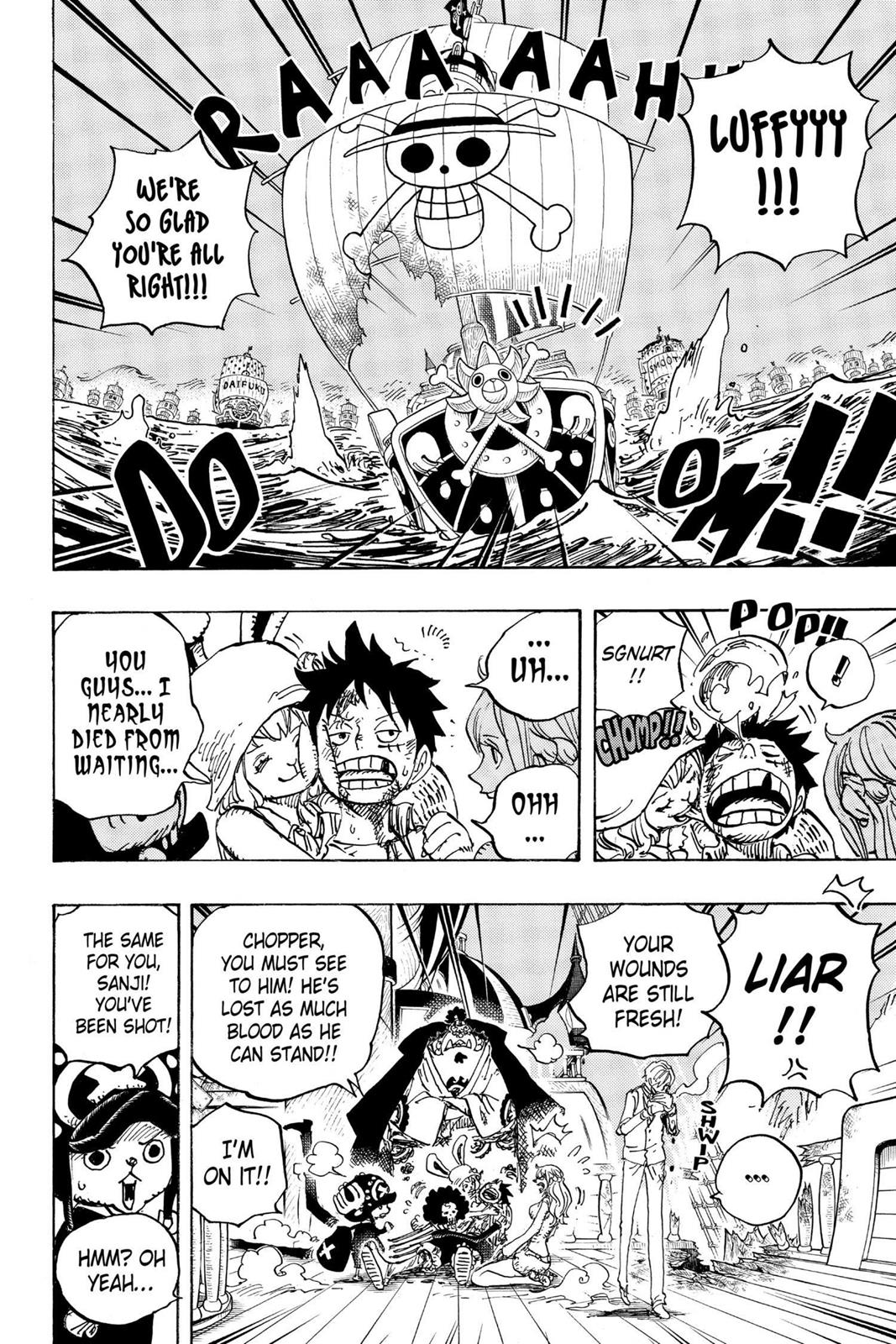 One Piece, Chapter 899 image 008