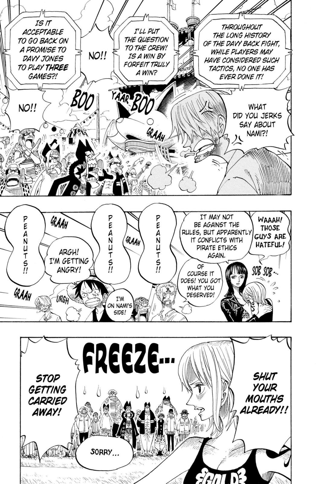 One Piece, Chapter 313 image 007