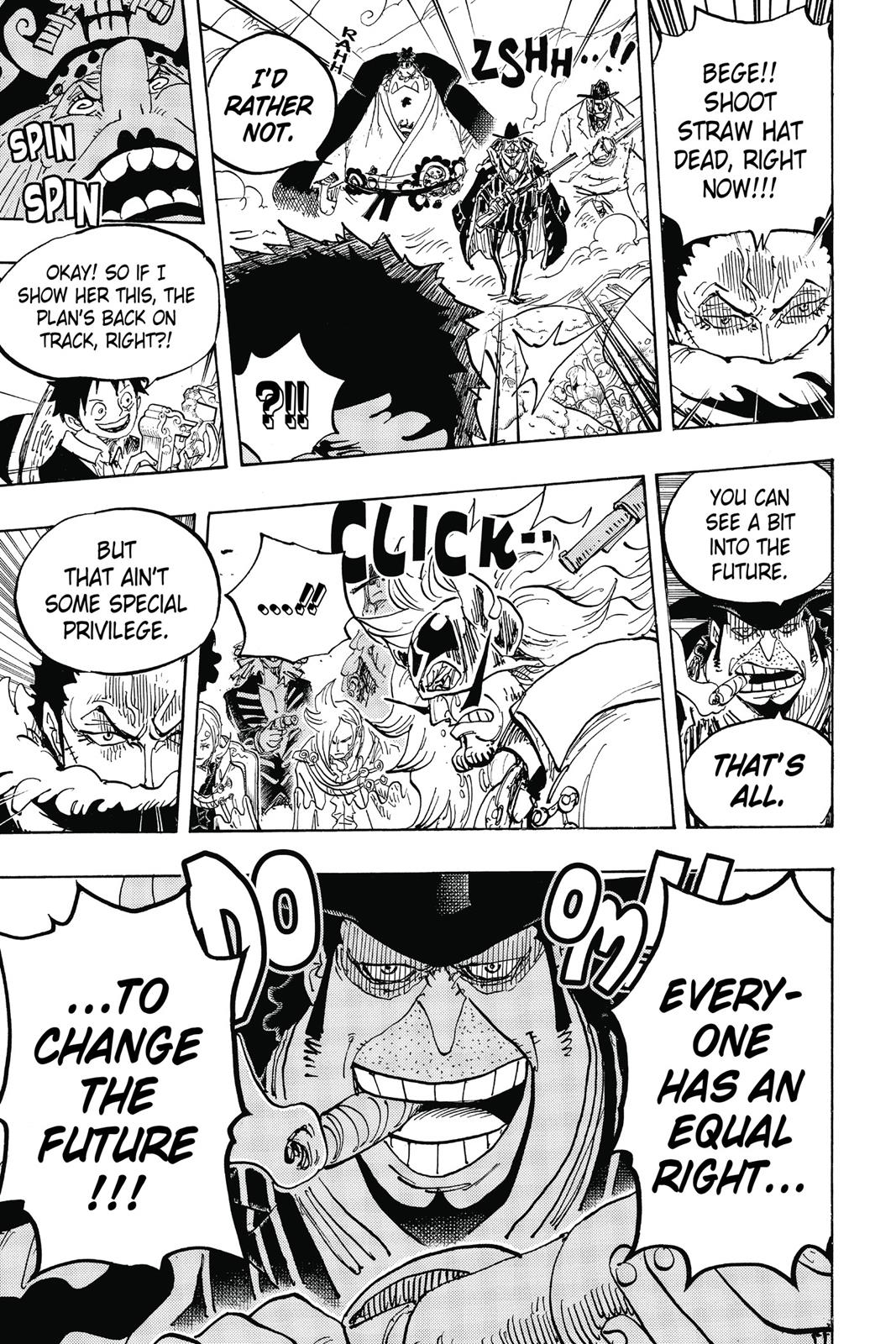 One Piece, Chapter 864 image 016