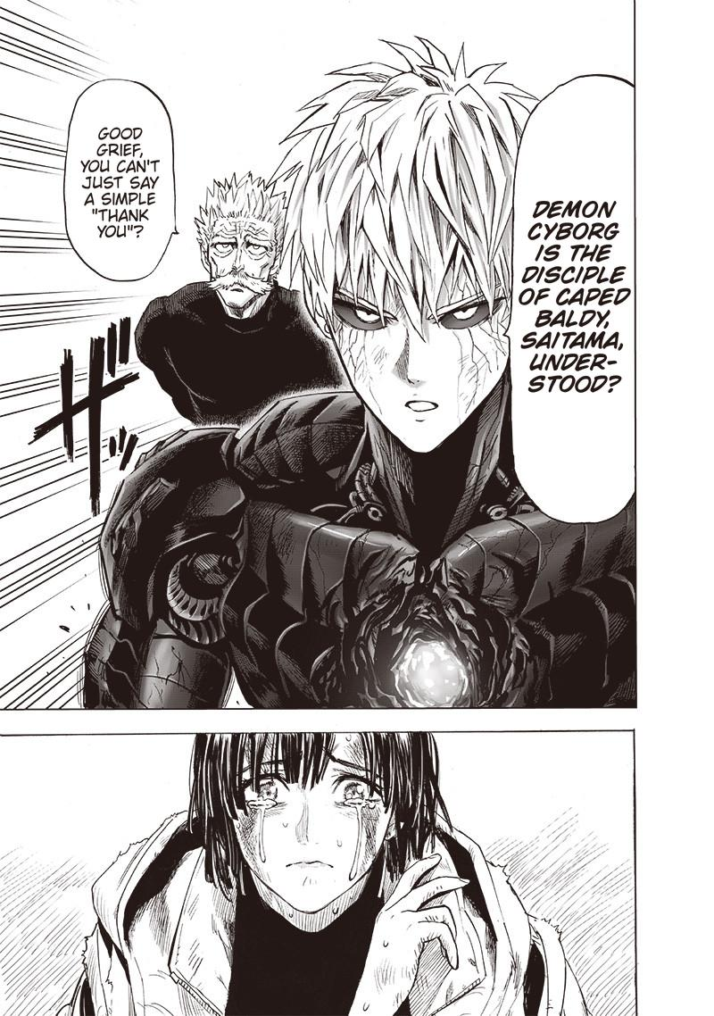 One Punch Man, Chapter 144 image 021