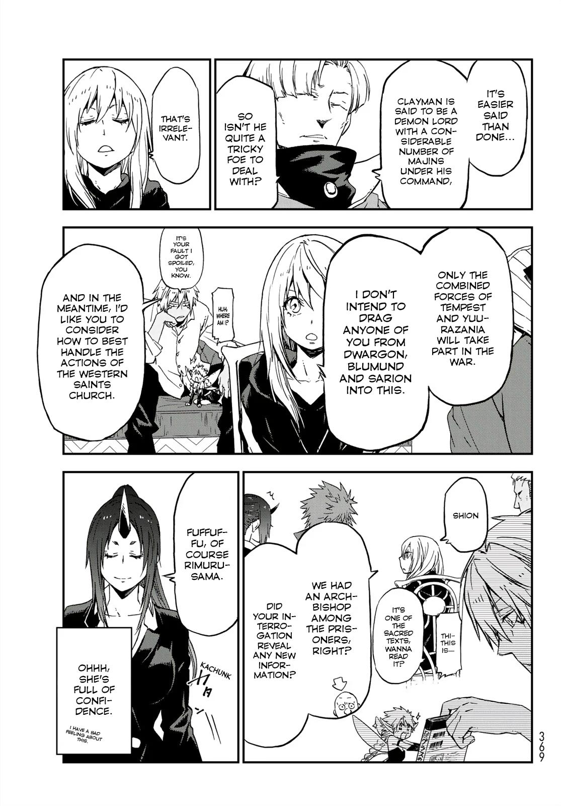 That Time I Got Reincarnated As A Slime, Chapter 75 image 021