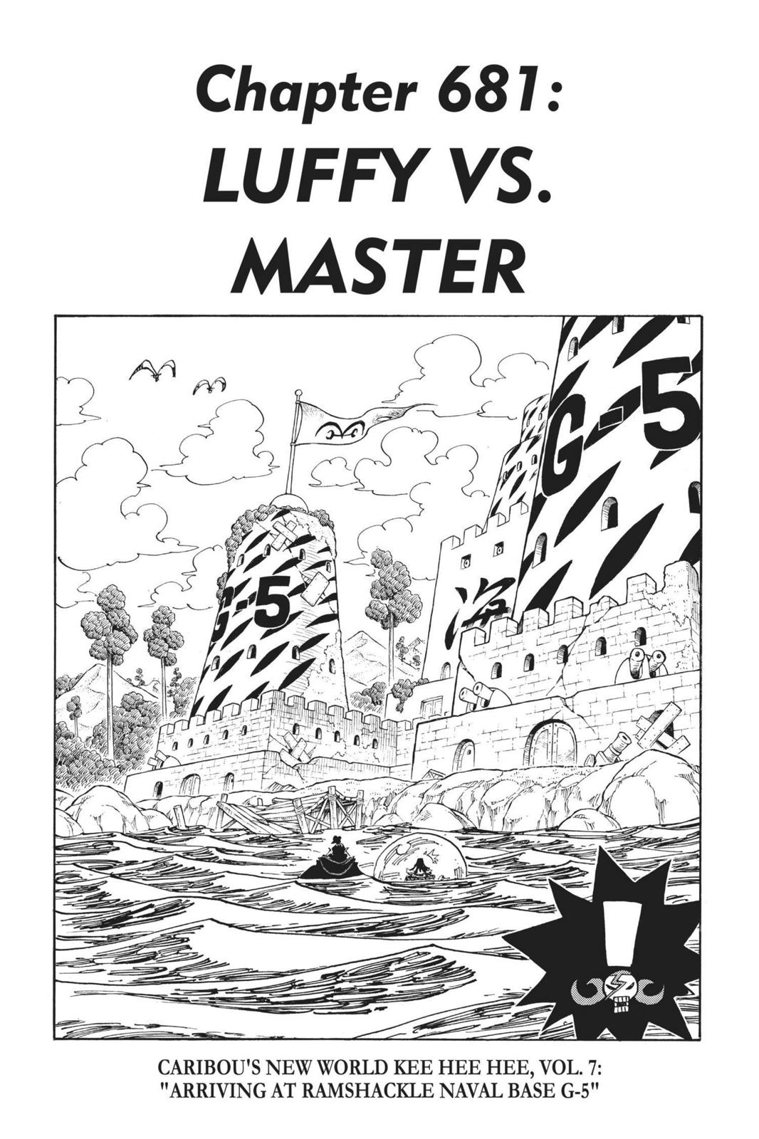 One Piece, Chapter 681 image 001