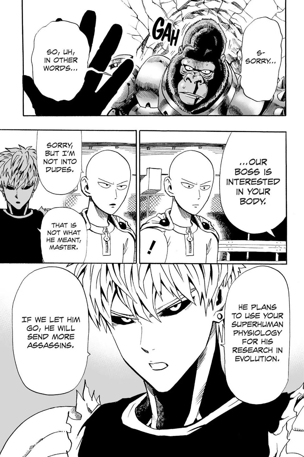 One Punch Man, Chapter Onepunch-Man 9 image 014