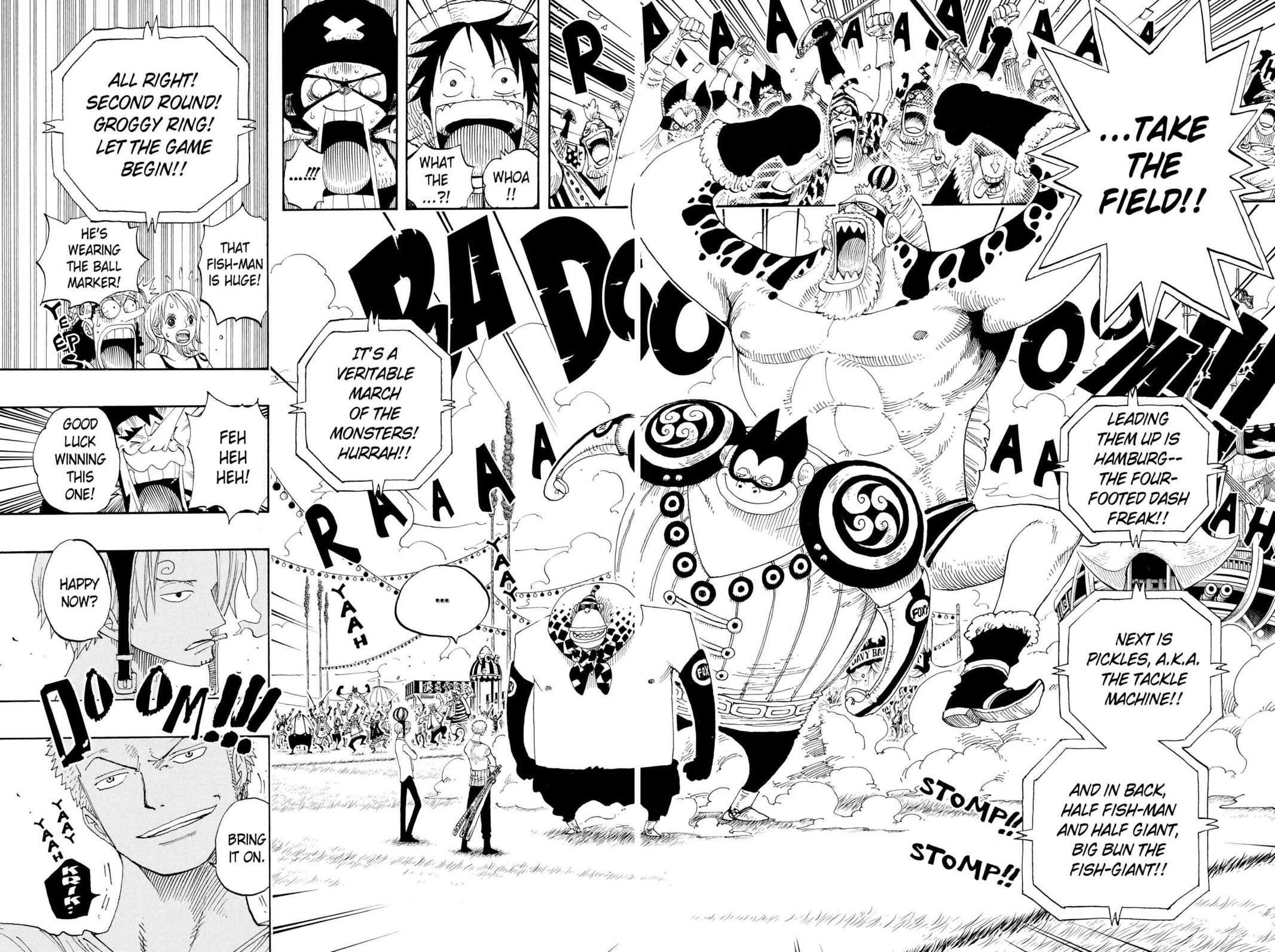 One Piece, Chapter 309 image 017
