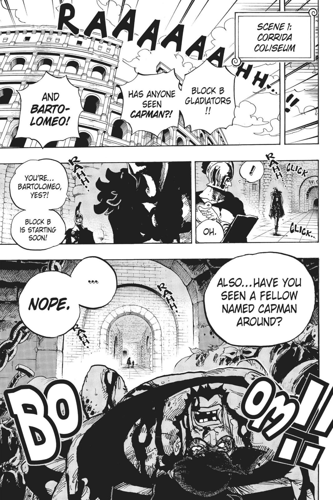 One Piece, Chapter 705 image 019