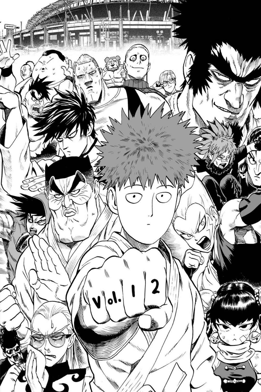 One Punch Man, Chapter Onepunch-Man 67.5 image 017