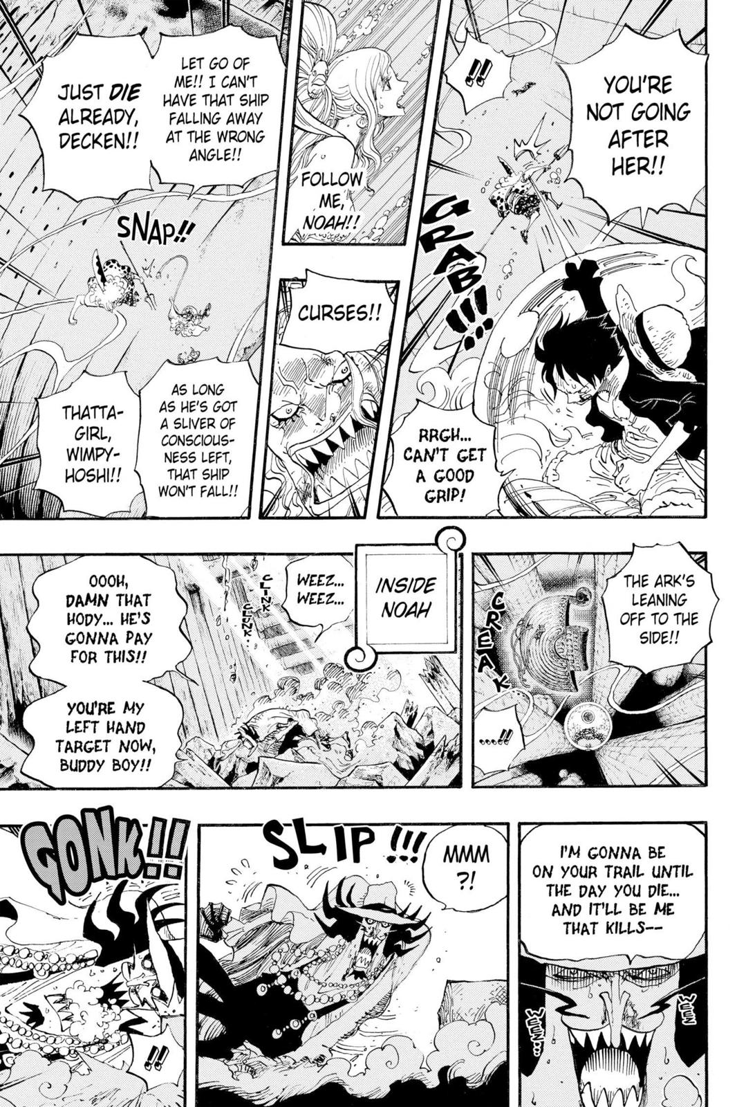 One Piece, Chapter 640 image 016