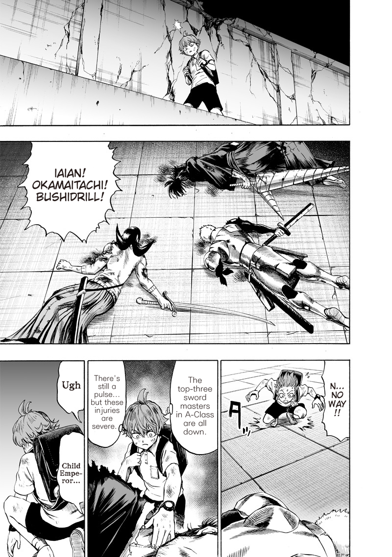 One Punch Man, Chapter One-Punch Man 121 image 012