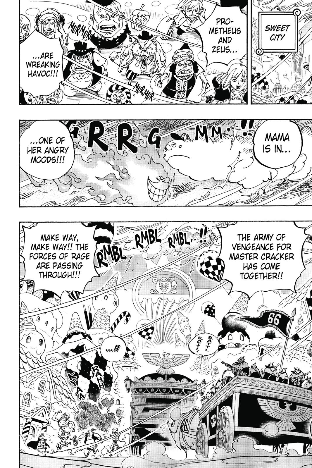 One Piece, Chapter 845 image 004