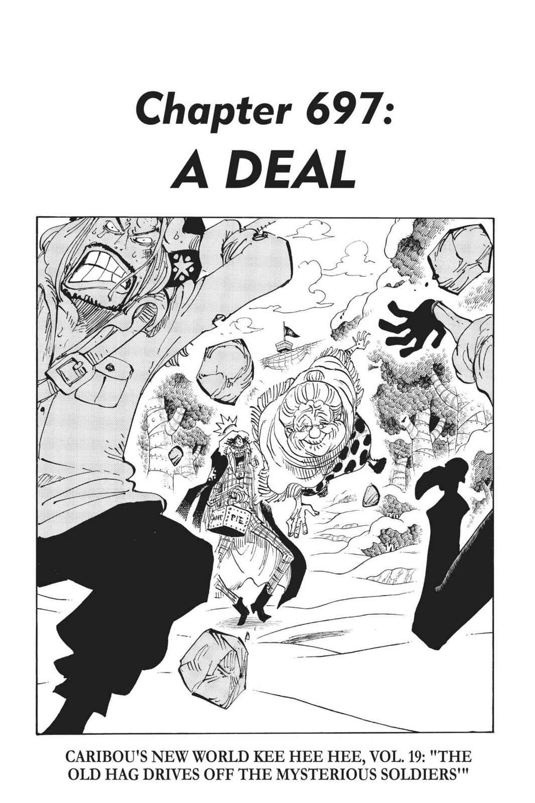 One Piece, Chapter 697 image 001