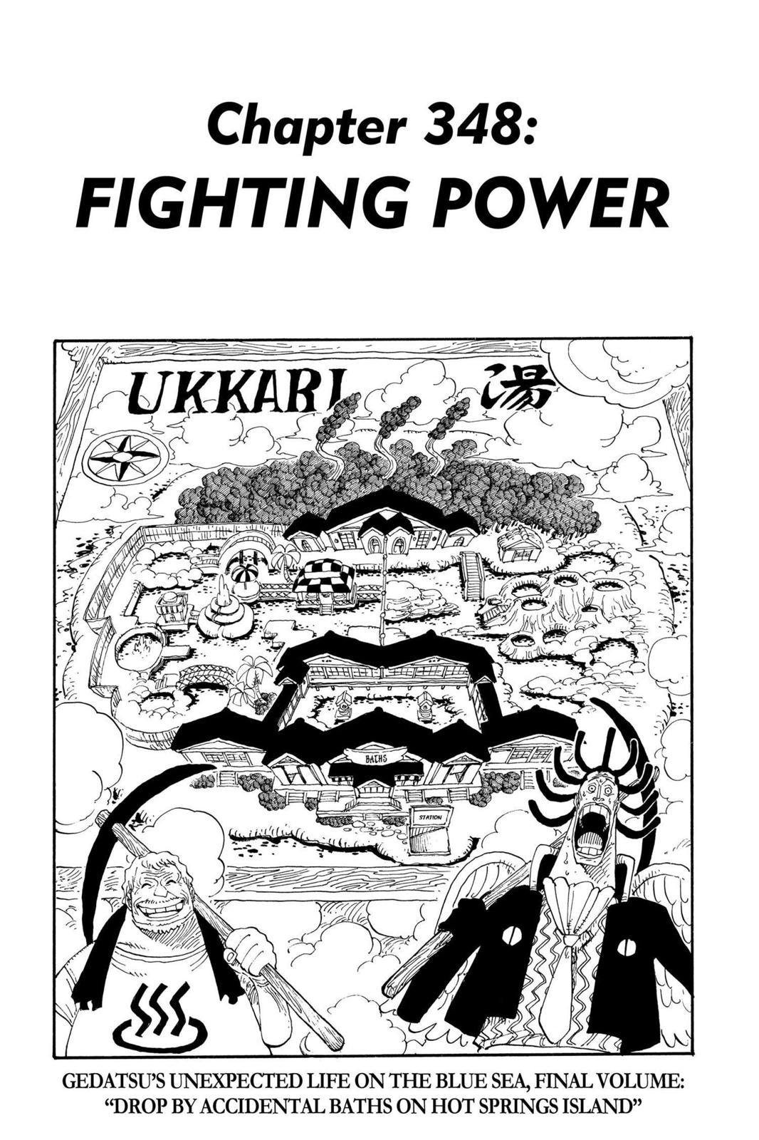 One Piece, Chapter 348 image 001