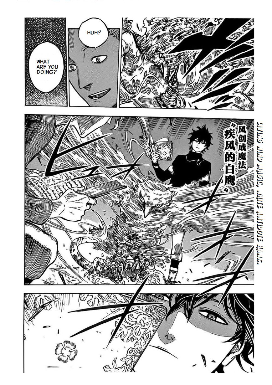 Black Clover, Chapter 3 The Road to the Magic Emperor image 017