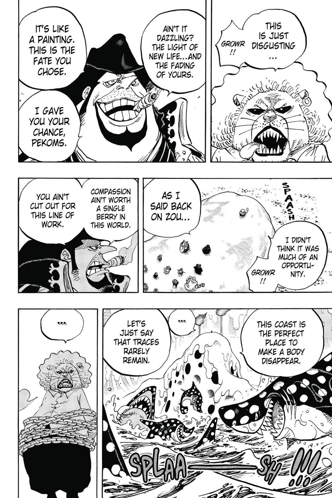 One Piece, Chapter 834 image 010