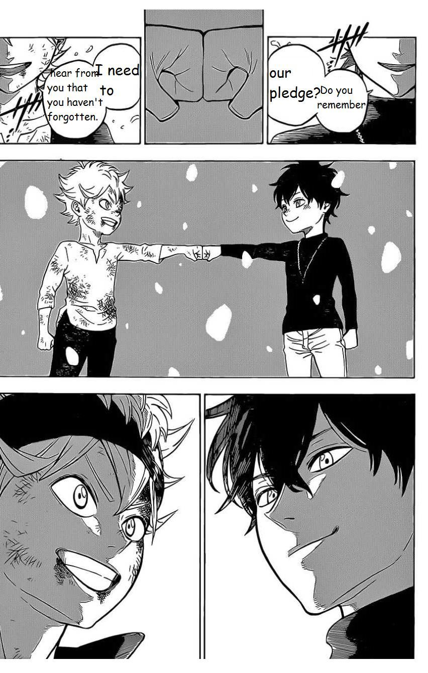 Black Clover, Chapter 1 The Boy's Vow (Fixed) image 050