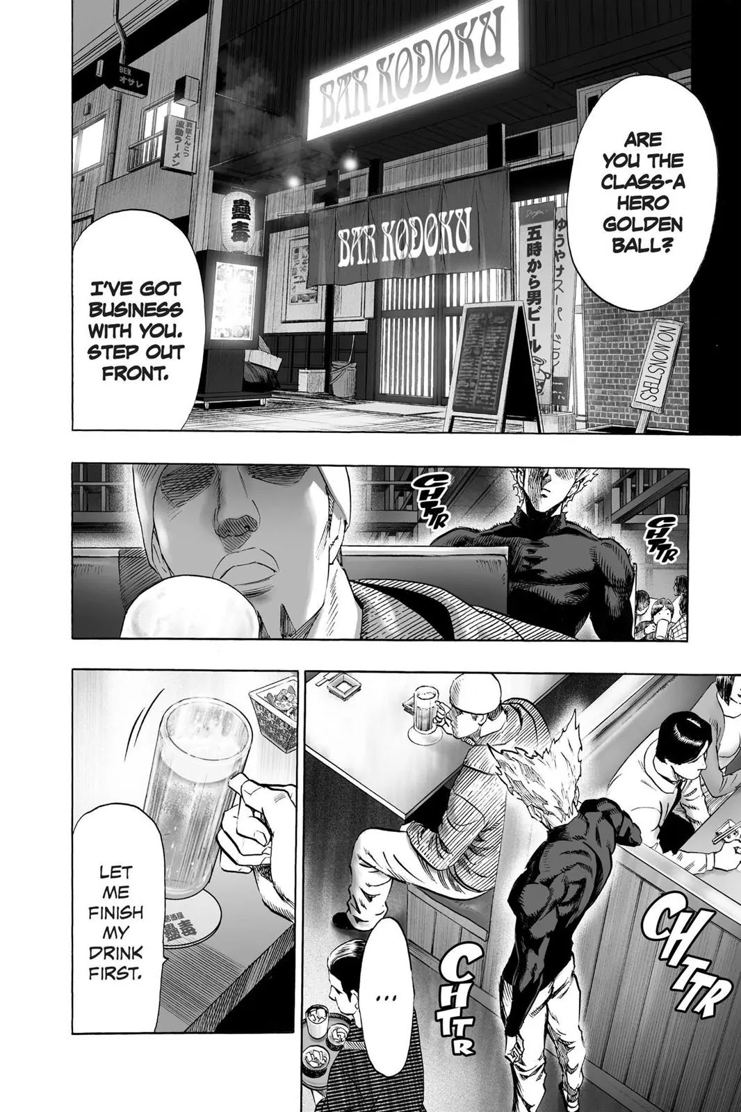 One Punch Man, Chapter Onepunch-Man 50 image 002