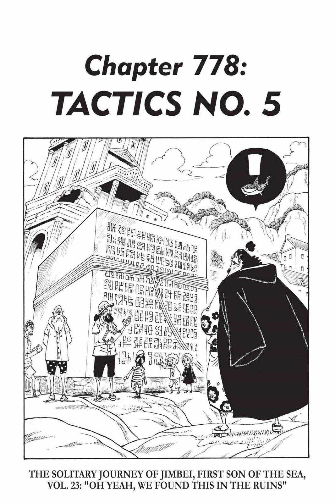 One Piece, Chapter 778 image 001