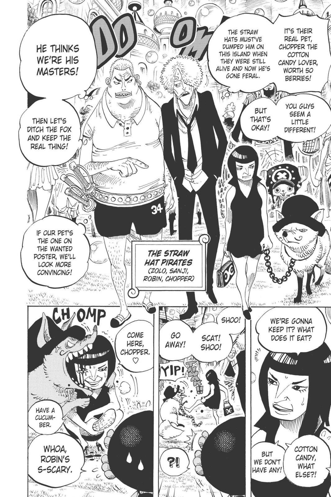 One Piece, Chapter 598 image 019