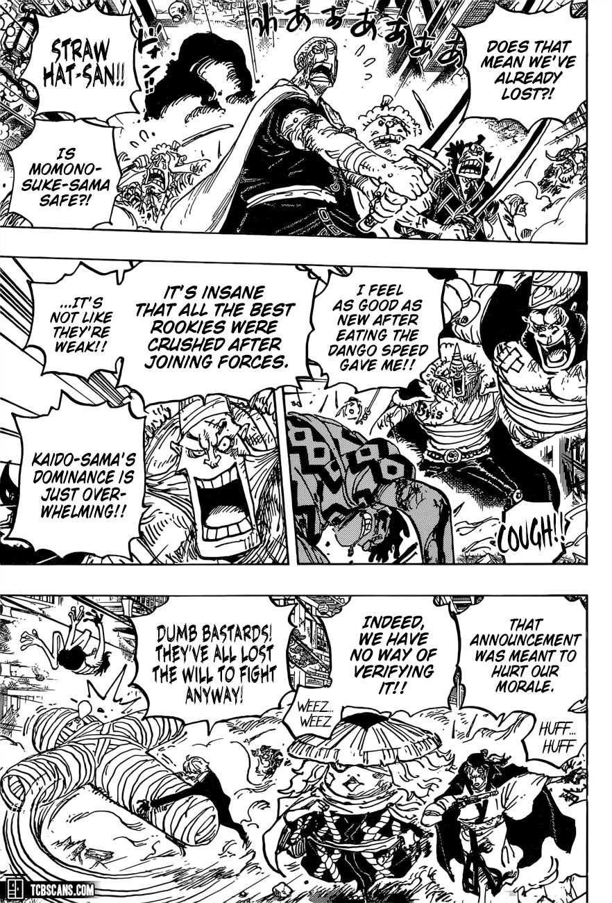 One Piece, Chapter 1015 image 004