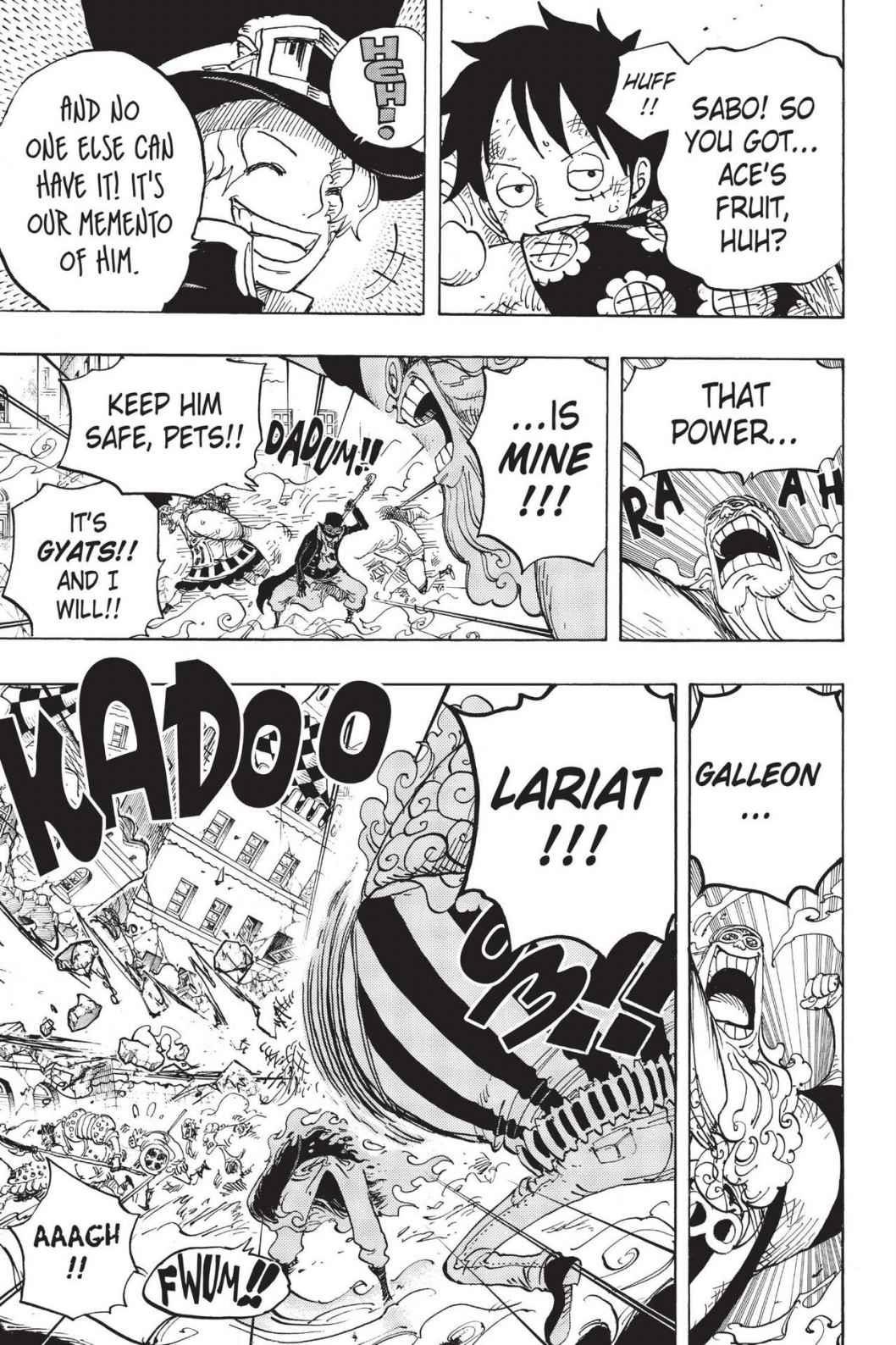 One Piece, Chapter 787 image 005