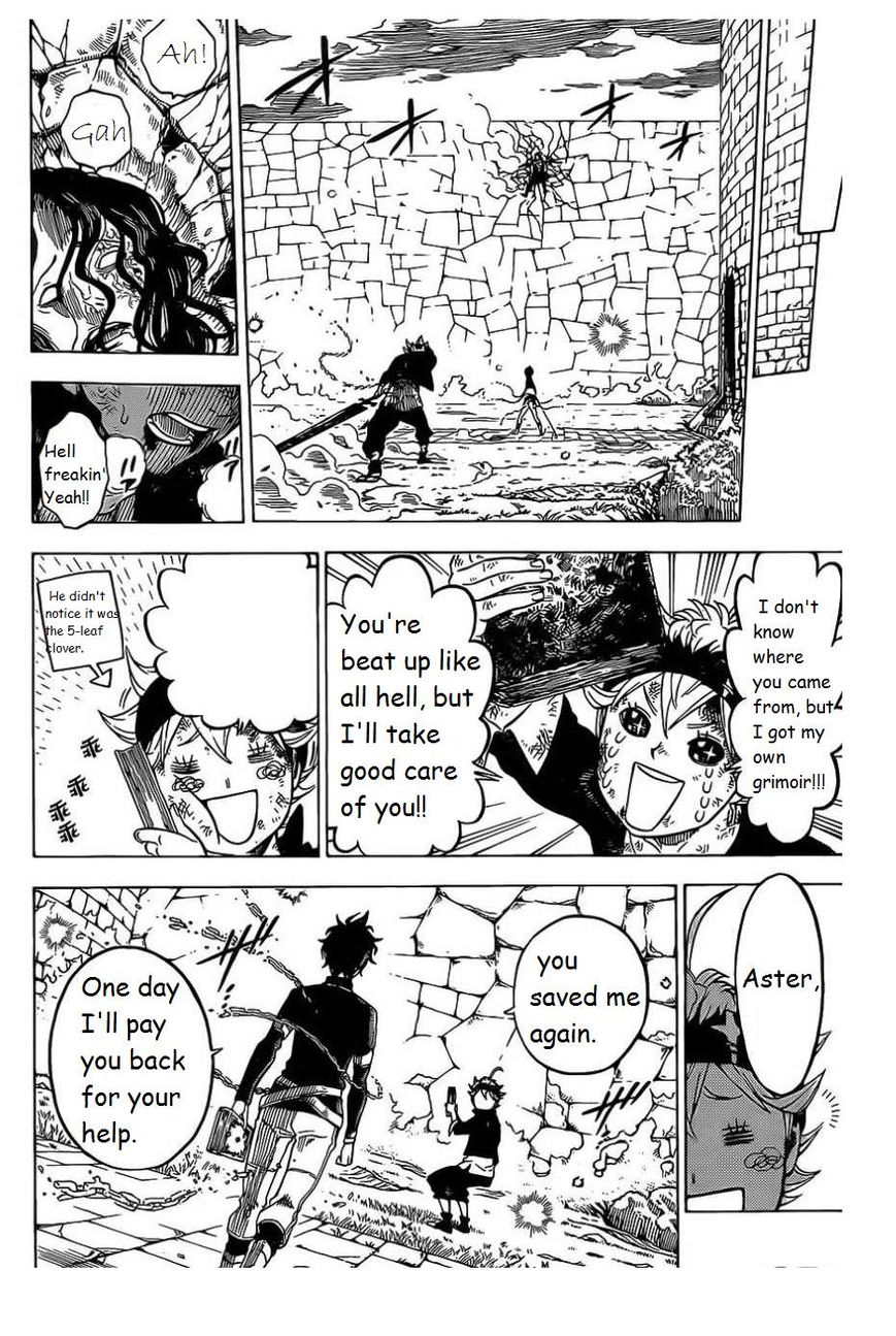 Black Clover, Chapter 1 The Boy's Vow (Fixed) image 049