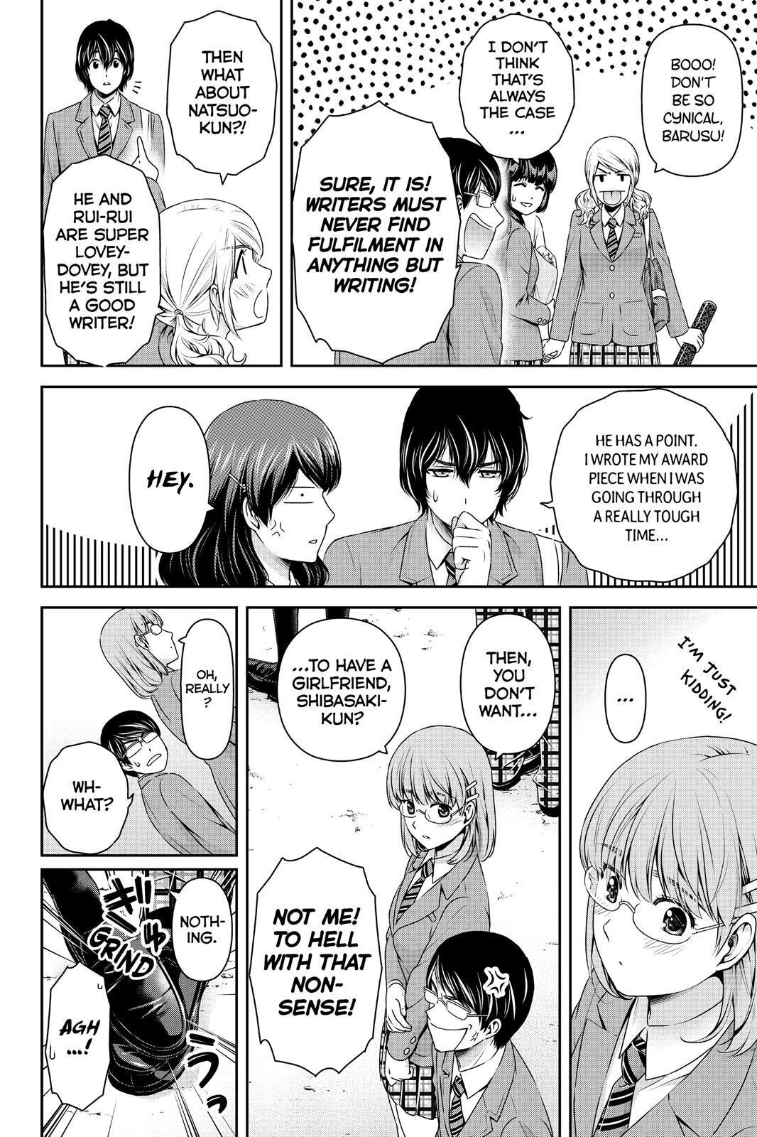 Domestic Na Kanojo, Chapter 137 image 004