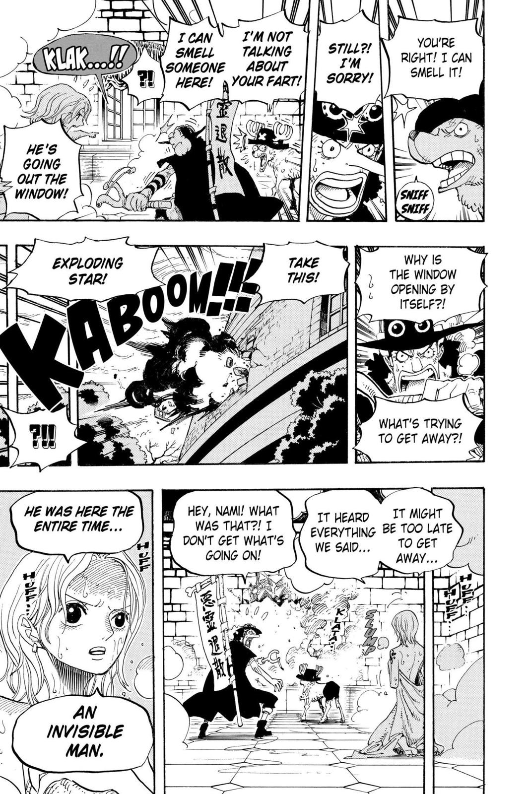 One Piece, Chapter 446 image 017