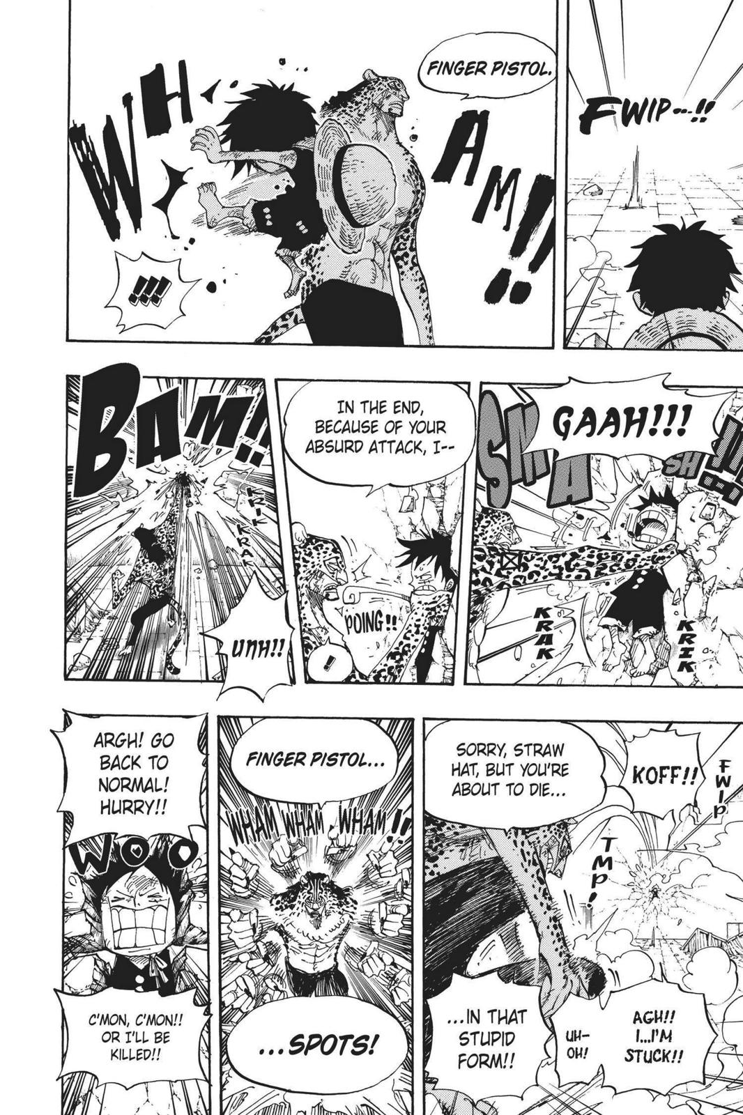 One Piece, Chapter 423 image 014