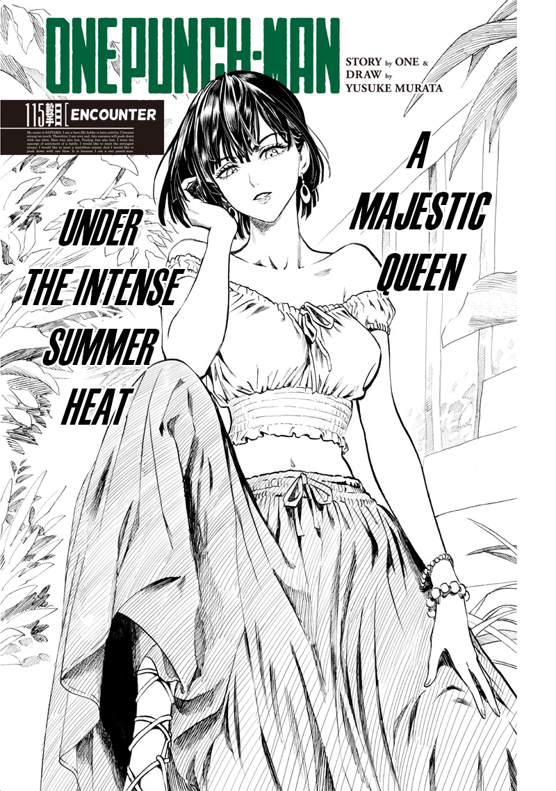 One Punch Man, Chapter One-Punch Man 115 image 001