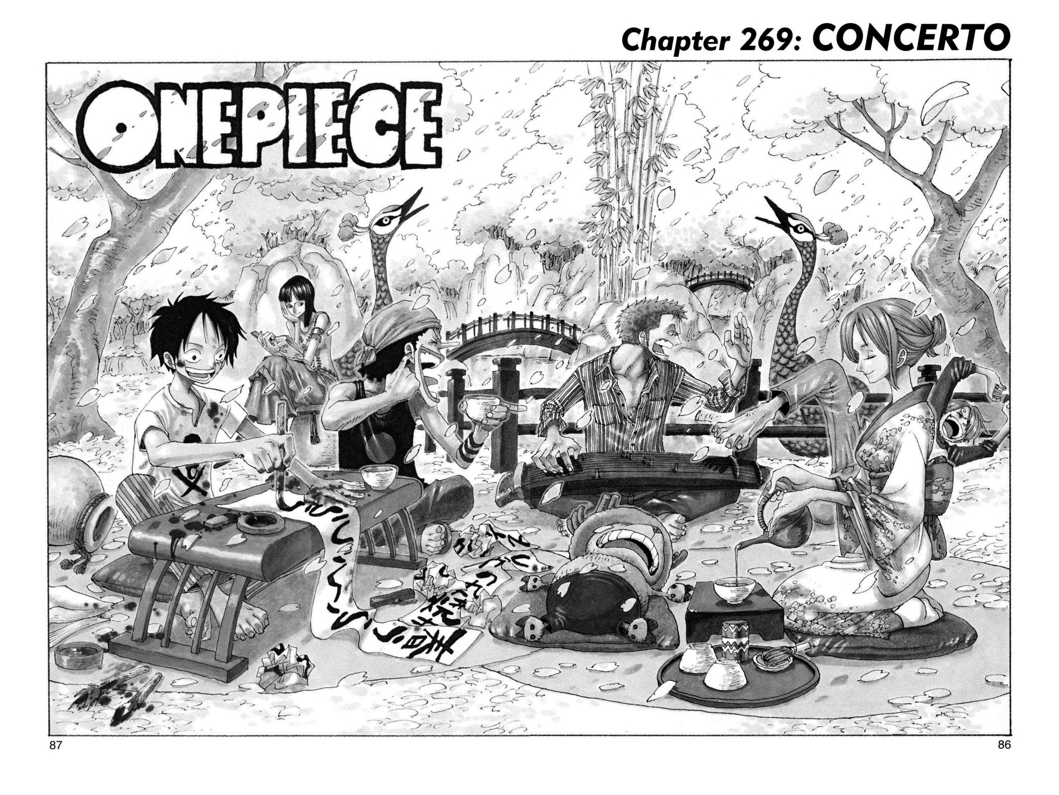 One Piece, Chapter 269 image 001