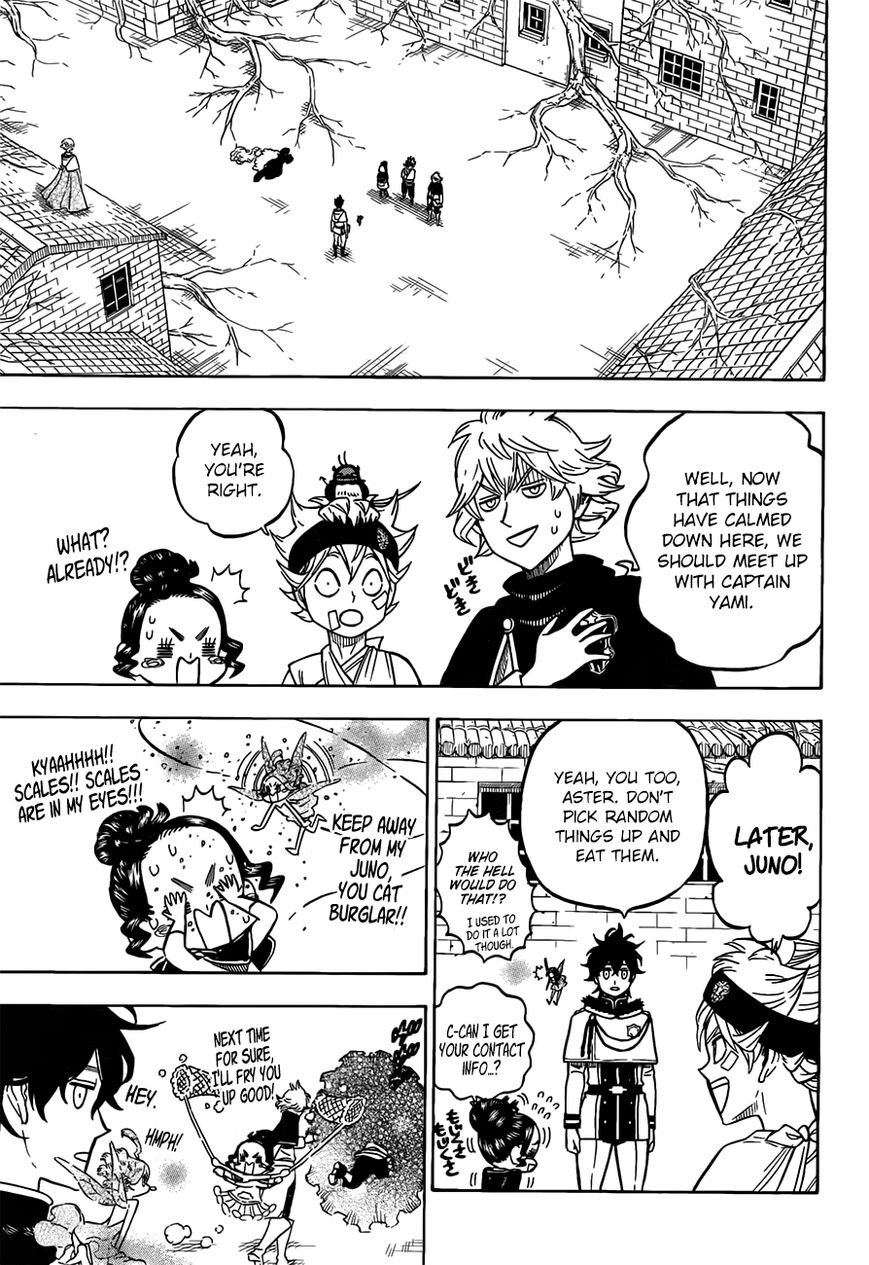 Black Clover, Chapter 79 The Depths of The Mask image 012