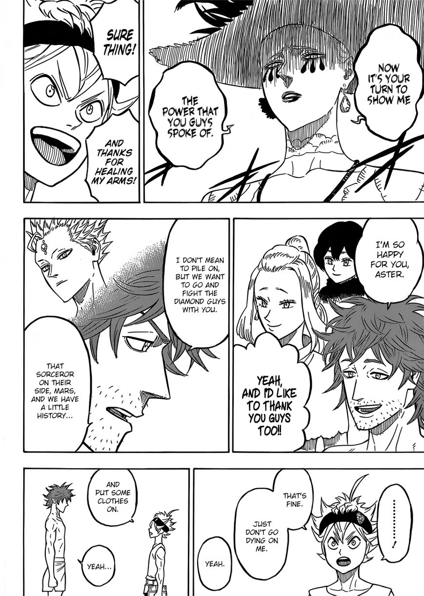 Black Clover, Chapter 85 The Charging Bull image 006