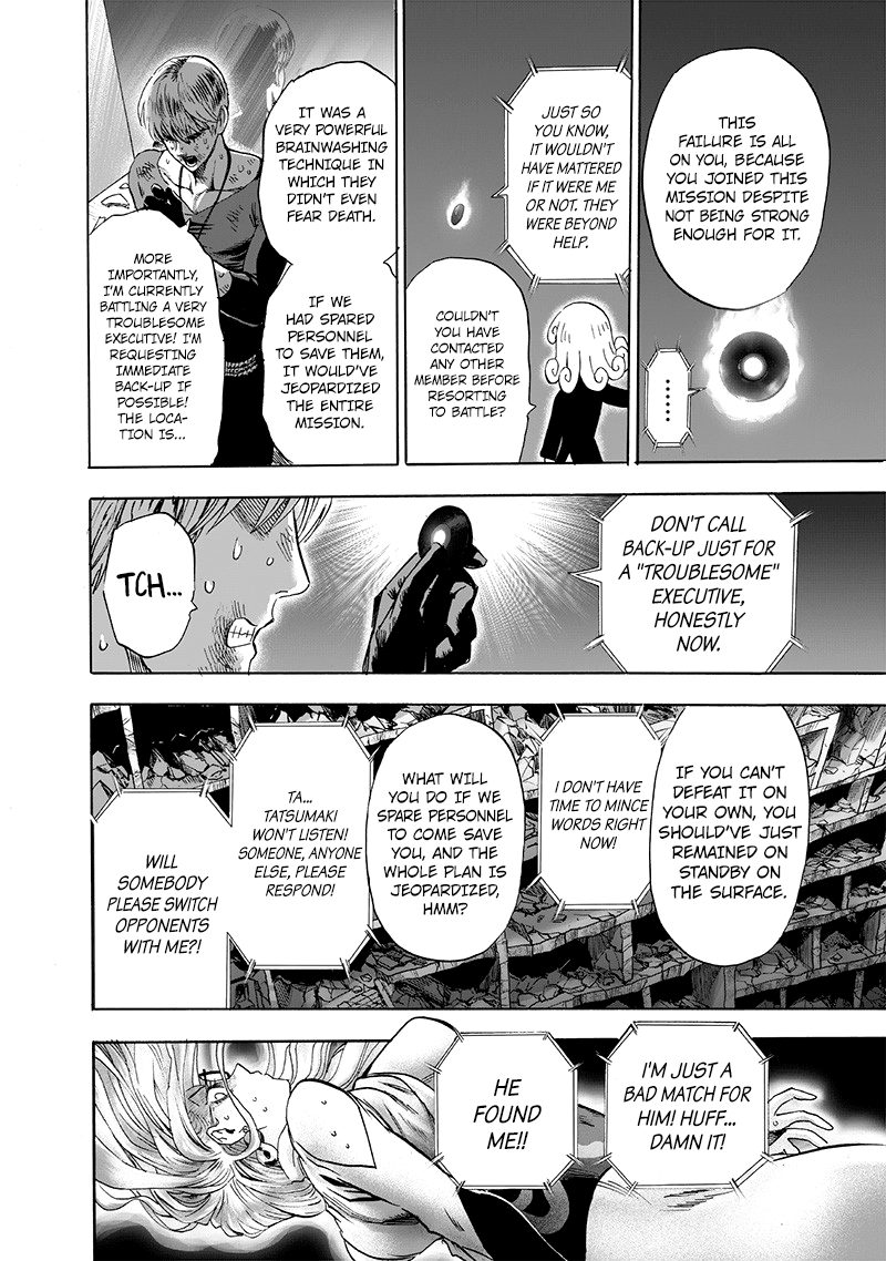 One Punch Man, Chapter 127 image 029