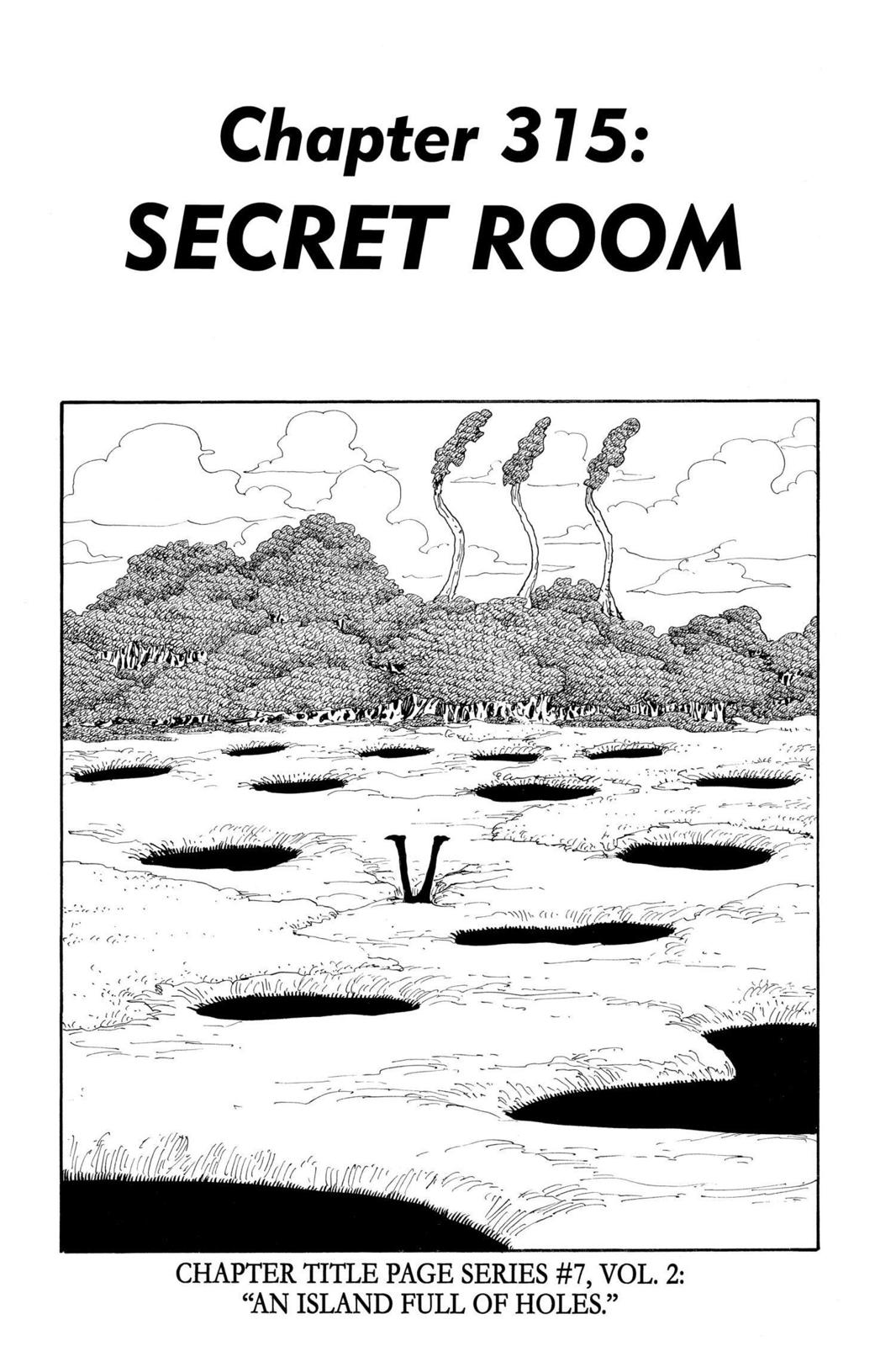 One Piece, Chapter 315 image 001