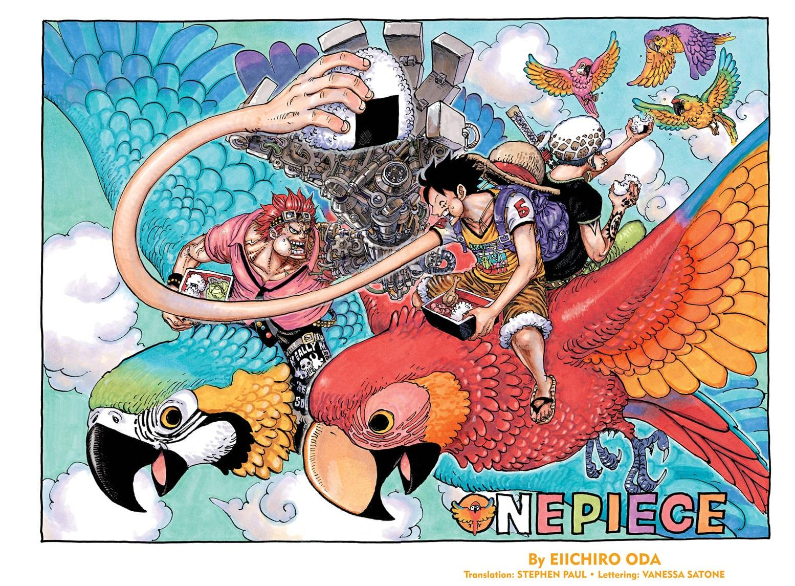 One Piece, Chapter 985 image 001