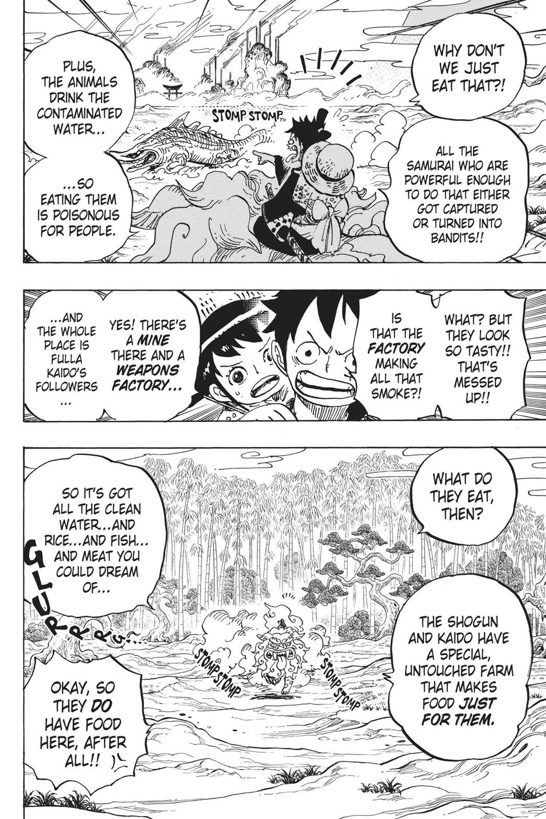 One Piece, Chapter 912 image 014