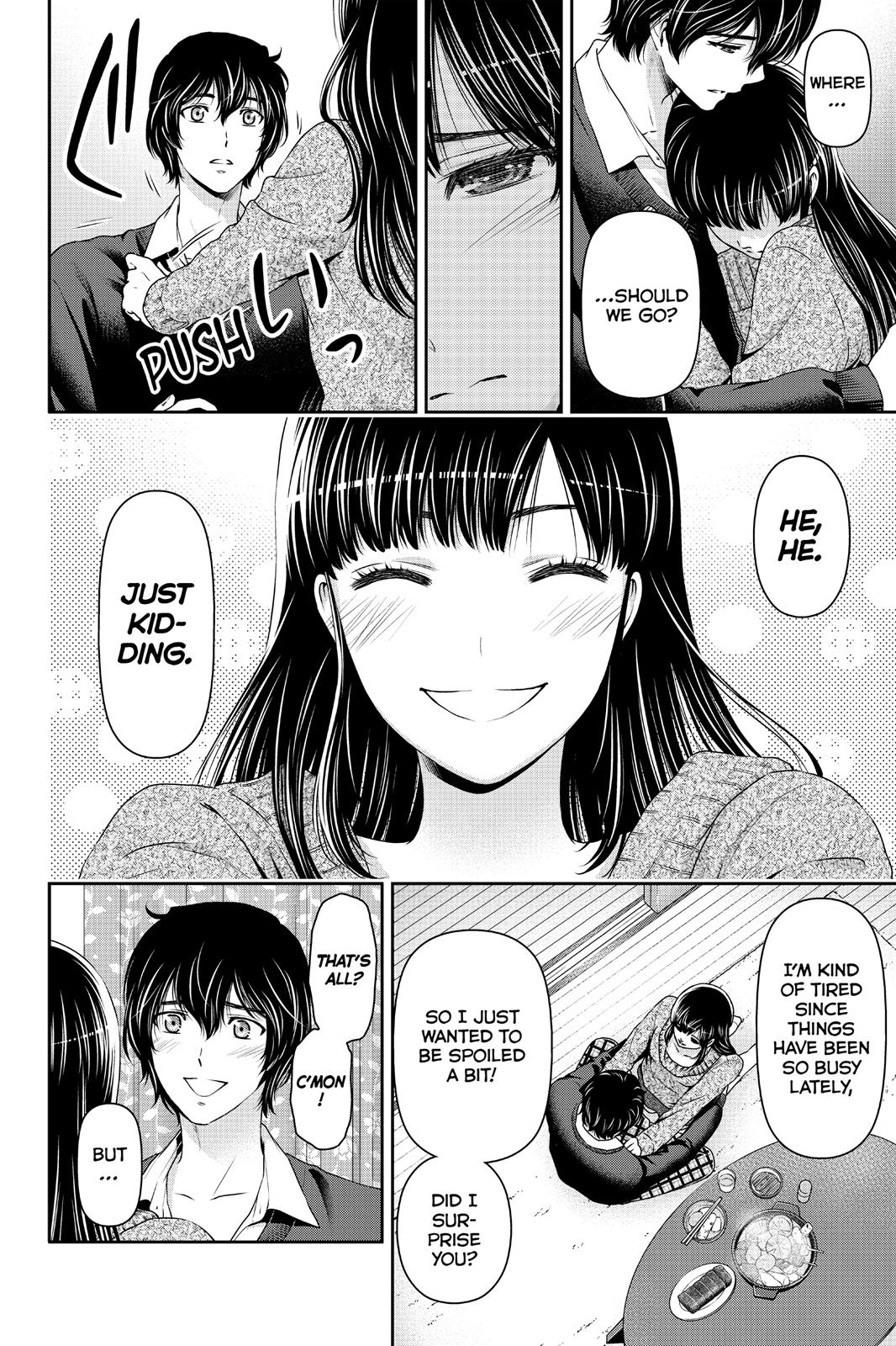 Domestic Na Kanojo, Chapter 60 image 002