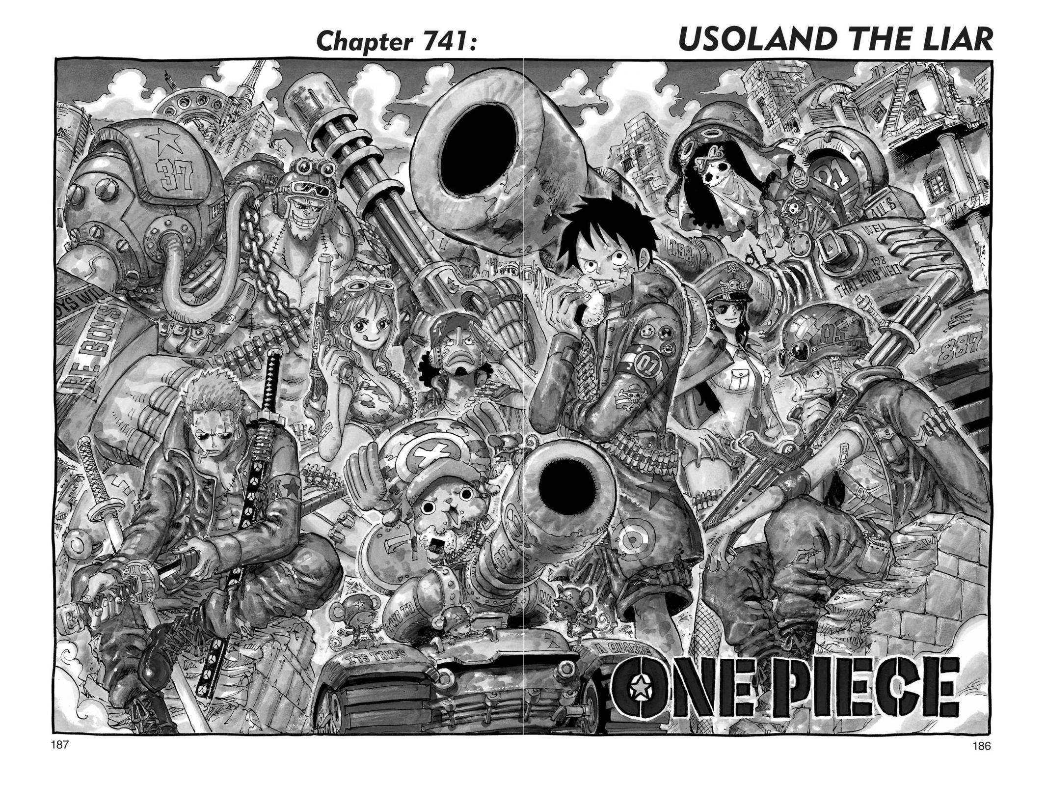One Piece, Chapter 741 image 001