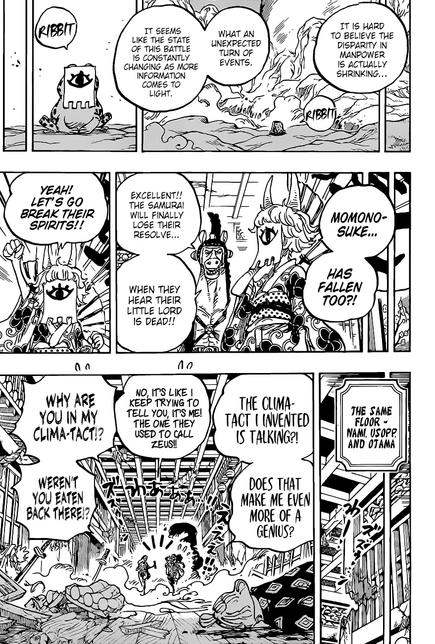 One Piece, Chapter 1016 image 006