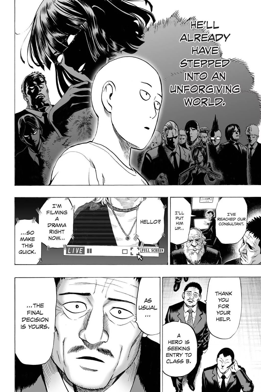 One Punch Man, Chapter Onepunch-Man 29 image 014