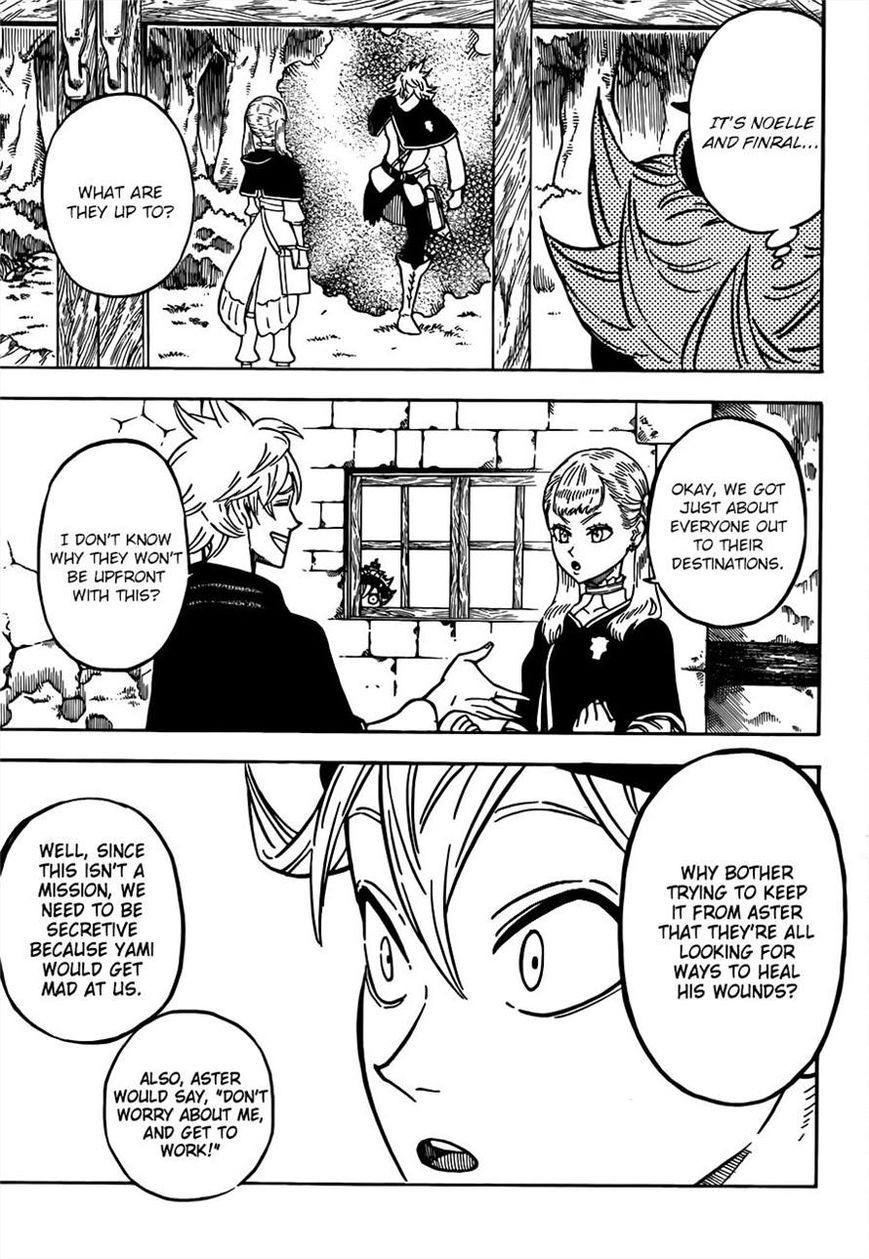 Black Clover, Chapter 81 A Guy Like That image 003