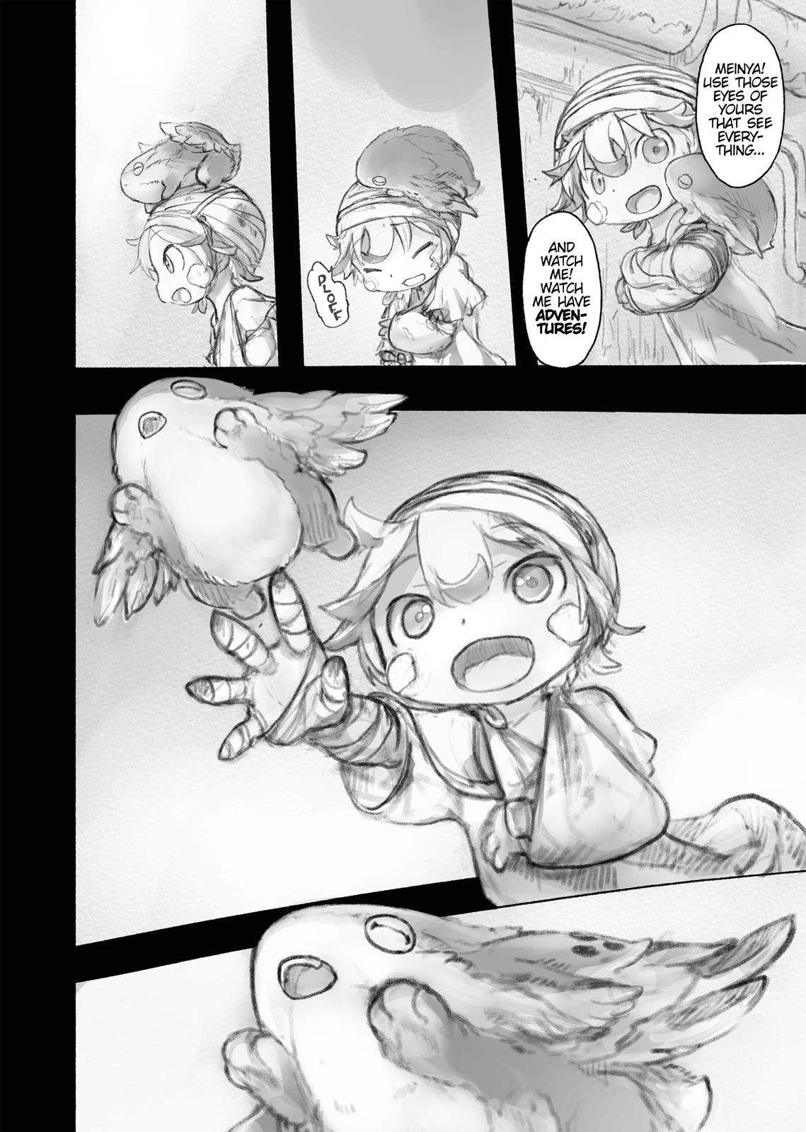 Made In Abyss, Chapter Hello,Abyss 37 image 014