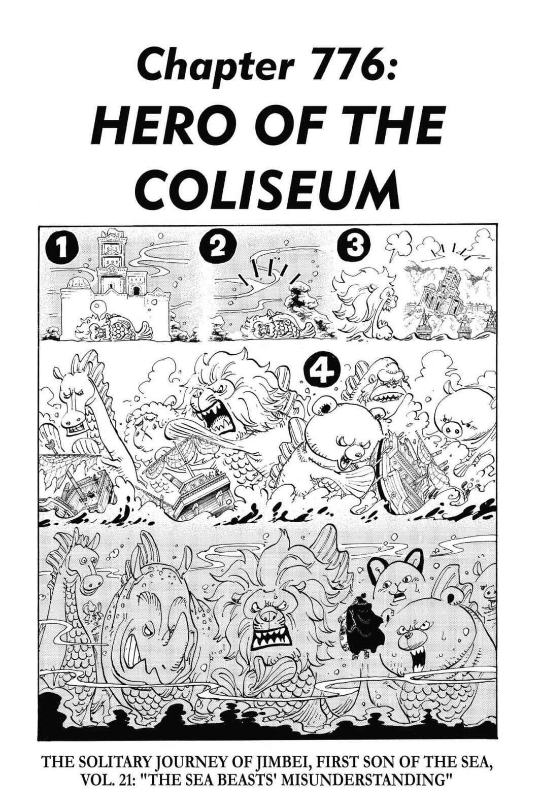 One Piece, Chapter 776 image 007