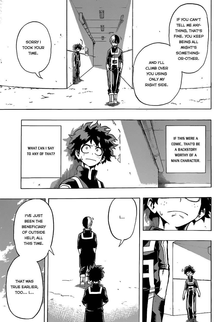 My Hero Academia, Chapter 31 image 017