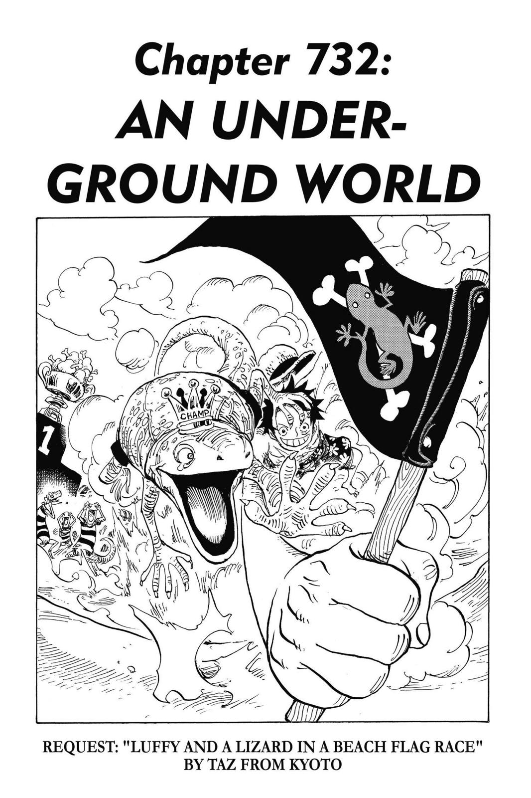 One Piece, Chapter 732 image 007
